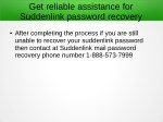 get reliable assistance for suddenlink password