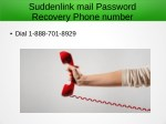 suddenlink mail password recovery phone number 1