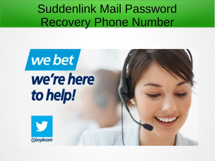 suddenlink mail password recovery phone number n.