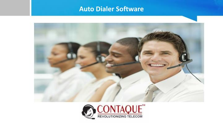 auto dialer software n.