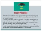 brand protections