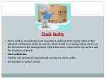 stock audits