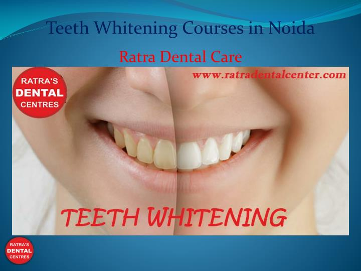 teeth whitening courses in noida n.