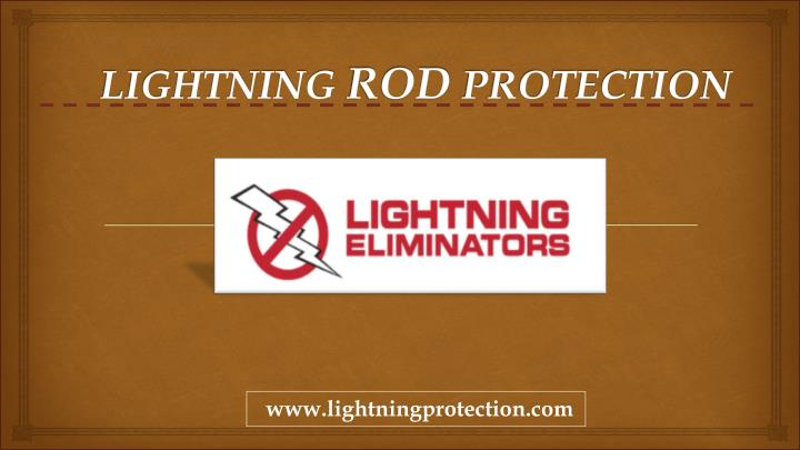 lightning rod protection n.