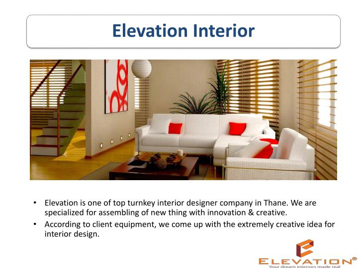 elevation is one of top turnkey interior designer n.