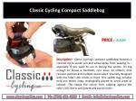 classic cycling compact saddlebag