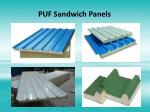 puf sandwich panels 1
