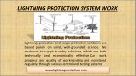 lightning protection system work