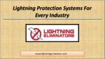 lightning protection systems for every industry