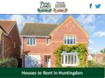 houses to rent in huntingdon