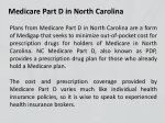 medicare part d in north carolina