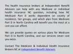 the health insurance brokers at independent
