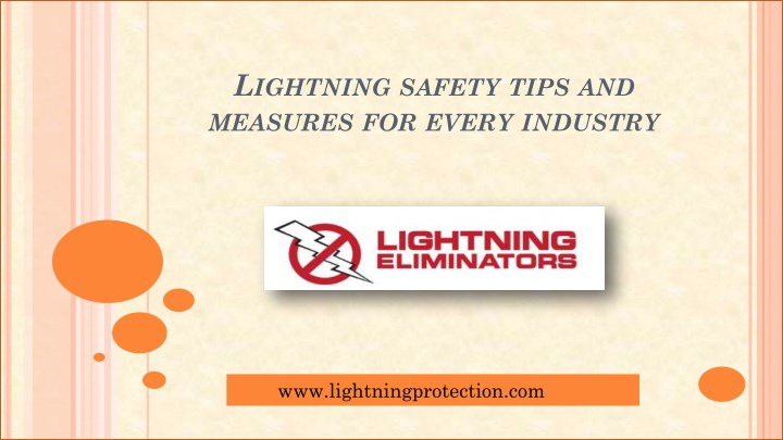 l ightning safety tips and measures for every n.