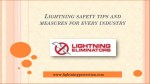 l ightning safety tips and measures for every