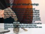 genuine not virtual savings 1
