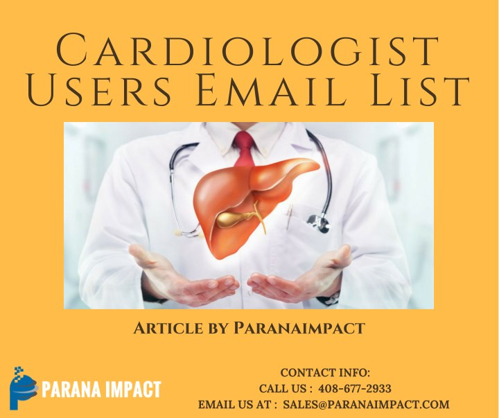 cardiologist users email list n.