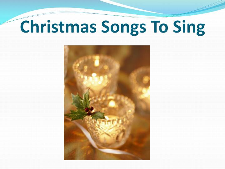 christmas songs to sing n.