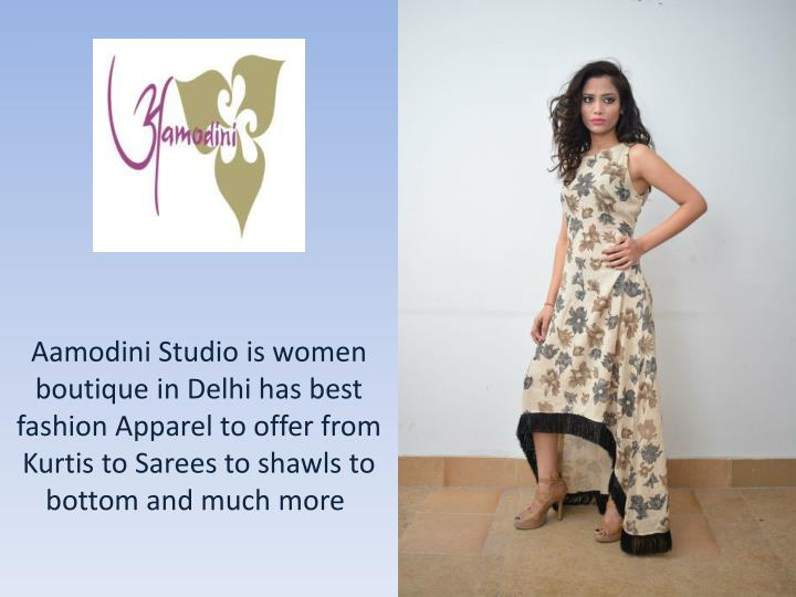 aamodini studio is women boutique in delhi n.