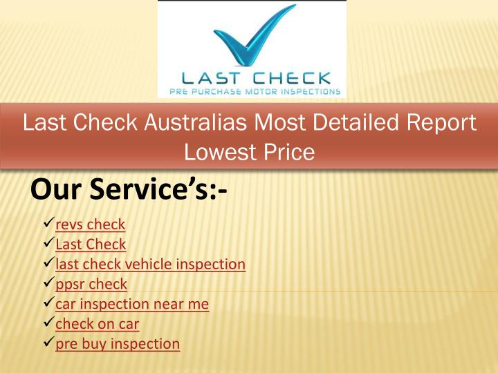 last check australias most detailed report lowest n.
