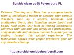 suicide clean up st peters burg fl 1