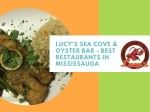 lucy s sea cove oyster bar best restaurants