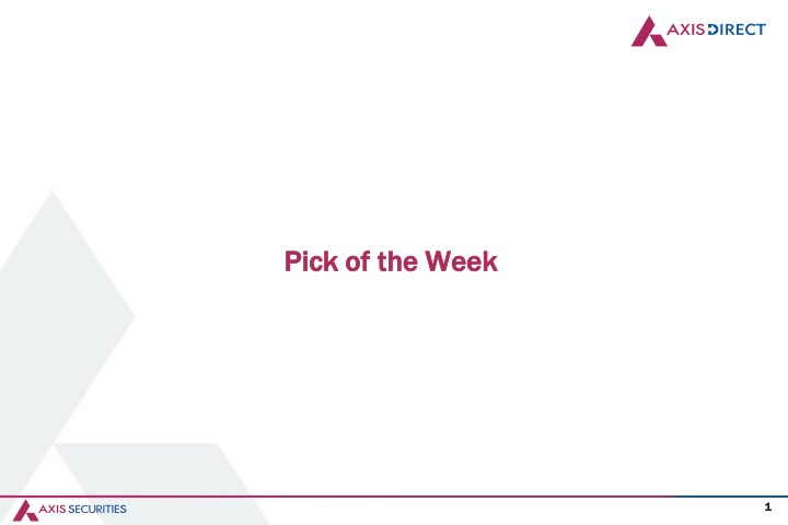 pick of the week pick of the week n.