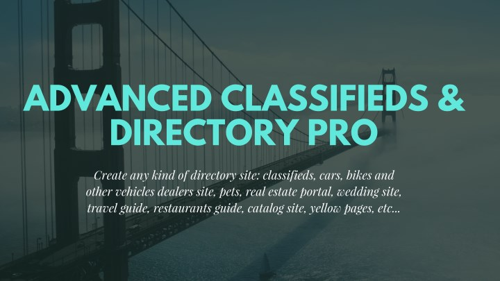 advanced classifieds directory pro n.