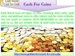 cash for coins