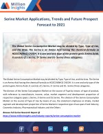 serine market applications trends and future