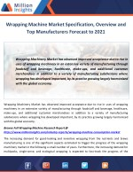 wrapping machine market specification overview