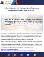palm oil market key players market shares