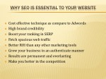 why seo is essential to your website
