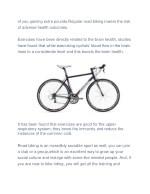 of you gaining extra pounds regular road biking
