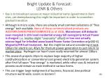 bright u pdate forecast lenr others