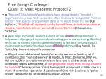 free energy challenge quest to meet academic protocol 2