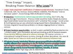 free energy impact breaking power balance who loses 3