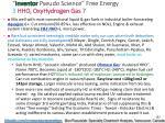 inventor pseudo science free energy 5