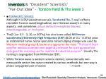 inventors dissident scientists far out idea torsion field thz wave 1