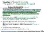 inventors dissident scientists far out idea torsion field thz wave 3