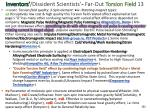 inventors dissident scientists far out torsion field 13