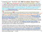 lowest cost tech20 h r xiv scrubber steam trap