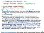 new perspective lowest cost energy from vast biomass 18 hydrolysis 2