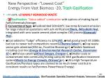 new perspective lowest cost energy from vast biomass 20 trash gasification