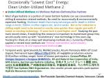occasionally lowest cost energy clean under utilized methane 2