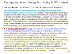 outrageous claims energy tech lobby zpe intro2