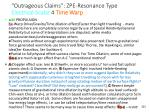 outrageous claims zpe resonance type electrical scalar 4 time warp