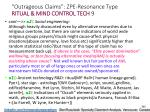 outrageous claims zpe resonance type ritual mind control tech 9