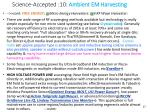 science accepted 10 ambient em harvesting