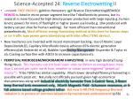 science accepted 24 reverse electrowetting ii