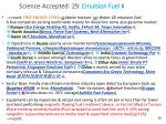 science accepted 29 emulsion fuel ii